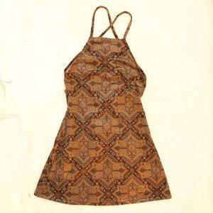 NWT Motel Faux Suede Winnie Dress XS